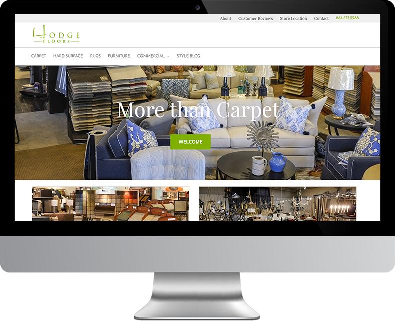 Hodge Floors Website