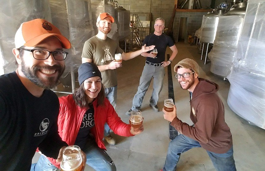 Fireforge Crafted Beer pouring this Spring